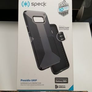Case speck for samsung galaxy s8+ plus gray-black